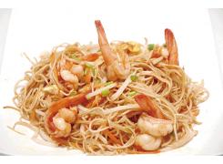 N6 nouilles sautées aux fruits de mer